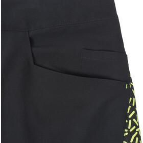 TSG SP2 Shorts Men black-yellow